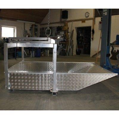 Aluminiumskasse til tagplader