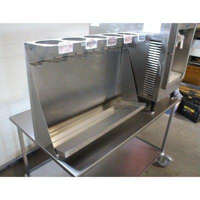 Bord i rustfri staal - opsamlingsbakke